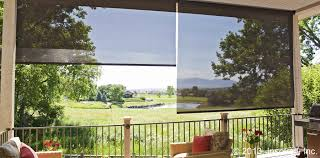 Roll Up Patio Shades by Screen Porch Roll Up Blinds