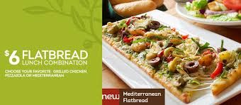 Olive Garden $6 Flatbread Lunch bination Coupon Dapper Deals
