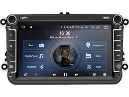 m i c av8v6 android 10 autoradio mit navi tuning für vw golf t5 touran passat rns rcd skoda seat dab plus bluetooth 5 0 wifi 2din 8 ips panzerglas