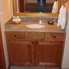 bathroom brown wooden bathroom vanities with tops and single sink