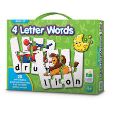 The Learning Journey Match It 4 Letter Words Natures Collection
