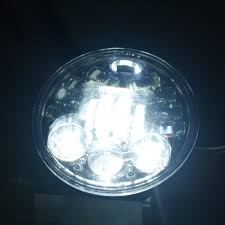 Harley Davidson Light Fixtures by Black Chrome Led Mortorcycle Parts High Low Beam Led Lamp Head 60w