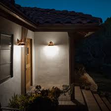 contemporary outdoor wall lights copper and contemporary