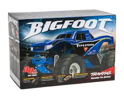 100 Bigfoot Monster Truck Toys Traxxas 110 RTR Firestone TRA360841
