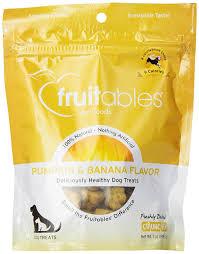 Shock Top Pumpkin Wheat Calories by Amazon Com Fruitables Pumpkin U0026 Banana Crunchy Dog Treat 7