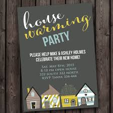 FAST Ship New Home House Warming Invitation Open Any