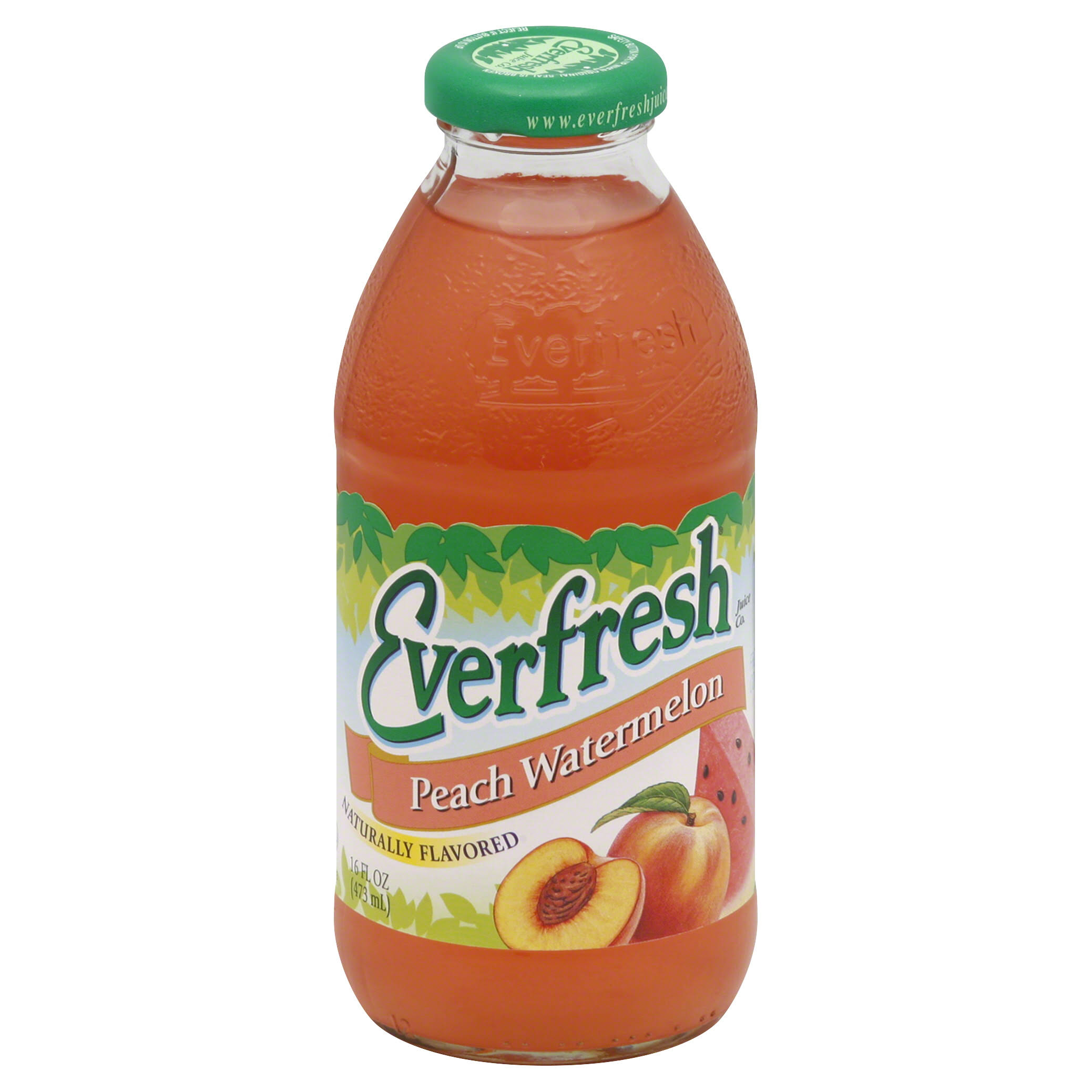Everfresh Juice - Peach Watermelon, 16oz
