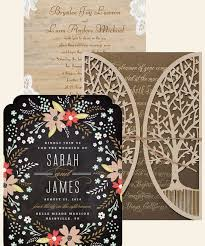 16 Pretty Rustic Wedding Invitations