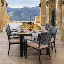 Where To Buy Dining Room Tables by Portofino 9 Piece Dining Set In Espresso