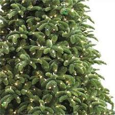 Ge Artificial Christmas Trees by Ge 7 5 Ft Just Cut Noble Fir Ez Light Artificial Christmas Tree