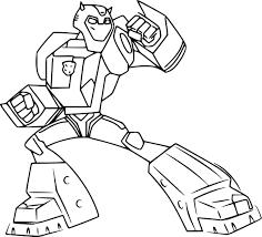 Surprise Transformer Color Page 8 Dessins De Coloriage Transformers