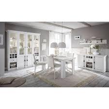 esszimmer kombination 4wingst 61 im landhaus stil pinie weiß nb mit großem buffet inkl led ohne stühle