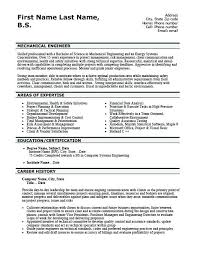 Sample Resume For Mechanical Technician Automotive Re Fancy Electro