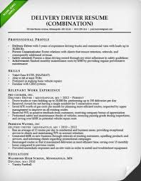 100 Truck Driver Resume Examples Sample And Tips Genius Free