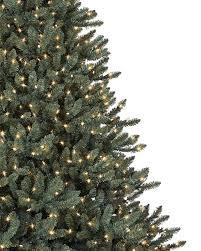 Artificial Trees Fake White Skinny Pre Lit Christmas Tree Slim