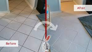 our tile and grout cleaners in st petersburg fl transformed four