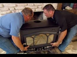 How To Put In A Gas Fireplace by How To Install A Wood Burning Fireplace Insert This Old House