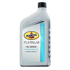 Oil Rain Lamp Motor by Pennzoil Platinum 5w 30 Full Synthetic Motor Oil 1 Quart 5063685