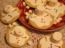 j 13 melted snowman cookies biscuits bonhomme de neige fondu