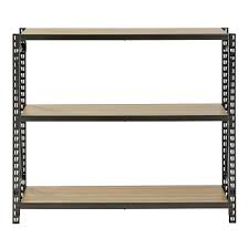 Home Depot Canada Decorative Shelves by Muscle Rack 42 In H X 48 In W X 12 In D 3 Shelves Steel