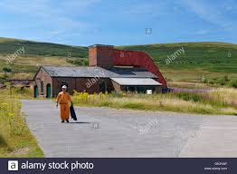 100 Fanhouse Miner With The Fan House In The Background Big Pit Mining