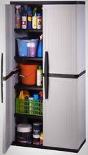 Suncast Storage Cabinet 4 Shelves by Suncast Tall Garage Cabinet Shelving Storage Organizer Heavy Duty
