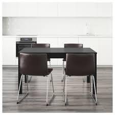 Ikea Vilmar Chair Assembly by Bernhard Bjursta Table And 4 Chairs Brown Black Kavat Dark Brown