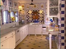 create the blue and white kitchen hgtv