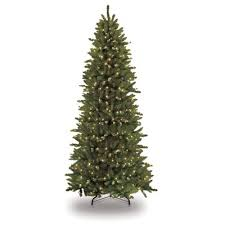 Slim Pre Lit Christmas Trees Canada by The Holiday Aisle Pre Lit Slim Fraser 12 U0027 Green Fir Artificial
