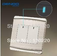 free shipping wallpad luxury wall switch panel led indicator one
