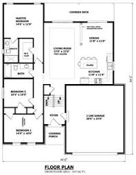 Images Canadian Home Plans And Designs by House Plans 1100 1400 Square 3 Bedroom 1 Story 2 Car
