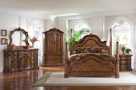 North Shore King Sleigh Bed by King Canopy Bedroom Furniture Sets Canopy Bedroom Sets With Wood