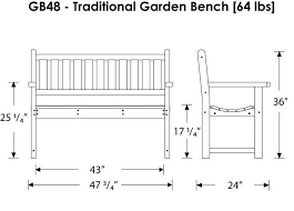 outdoor park bench Outdoor Bench Plans And Different Options