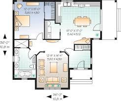 Affordable e Bedroom House Plan DR