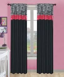 Zebra Curtain by Look What I Found On Zulily Pink Zebra Rod Pocket Curtain Panel