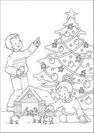 Great Christmas Tree Coloring Pages For Kids Printable