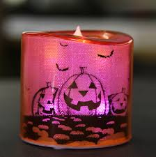 Halloween Flameless Taper Candles by 3 Assorted Acrylic Color Changing Battery Operated Halloween