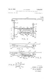Patent US3404918 - Power Operated Tail Gate Latch For Dump Truck ...