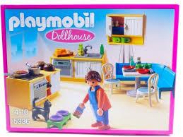 playmobil puppenhaus 5336 einbauküche mit sitzecke