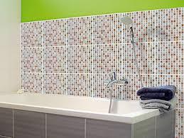 infactory deko fliesenaufkleber selbstklebende 3d mosaik
