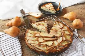 low carb birnenkuchen