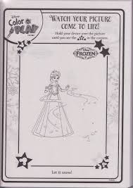 Book Pages From Quiver Disney Princess Frozen Color And Play Come To Life In D Coloring