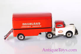100 Toy Moving Truck SSS Overland Tin Japanese Moving Truck For Sale Pending Antique