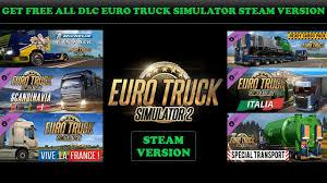 100 Steam Euro Truck Simulator 2 EURO TRUCK SIMULATOR 13331 ALL DLC FREE STEAM YouTube