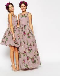 floral print wedding dresses lushzone