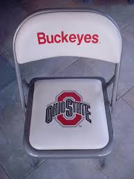 The Ohio State Buckeyes Padded Metal Folding Card Table Style Chair ... Smartgirlstyle Folding Chair Makeover Padded Chairs For Sale Blue Club Chair Fc 332xl The Home Depot Cosco 5piece Beige Mist Portable Folding Card Table Set14551whd Nice With Poly Images Black Best 1950s Four For Sale In Hendersonville 5pc Xl Series And Vinyl Set White Amazoncom 2 Ultra Unusual Ding Room Drop Leaf And Meco Sudden Comfort Double 5 Piece Rental Norfolk Va Acclaimed Events Poker Table Wikipedia Find More Pending Pick Up At