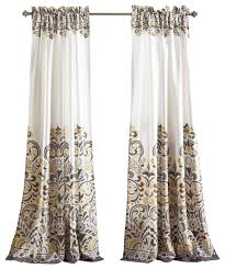 Lush Decor Window Curtains by Adorable Traditional Curtains Designs With Clara Window Panel Set