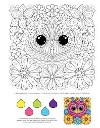 Amazon Groovy Owls Coloring Book Is Fun Design