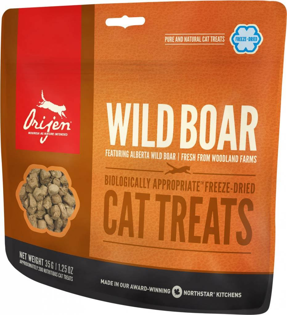 ORIJEN Freeze Dried Wild Boar Cat Treats - 1.25 oz