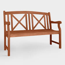 Threshold Patio Furniture Covers by Eucalyptus Wood Patio Furniture World Market